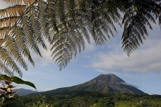 The Arenal volcano, Costa Rica